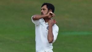 बिहार के मुजफ्फरपुर निवासी नदीम  भारत के 296वें टेस्ट खिलाड़ी बनें