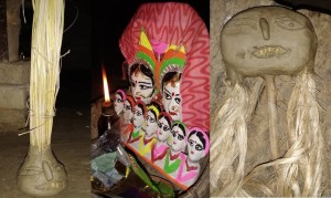 सामा-चकेबा: क्यों महिलाएं वृंदावन के तिनकों में आग लगाकर चुगला के मूंछों को जला देती हैं