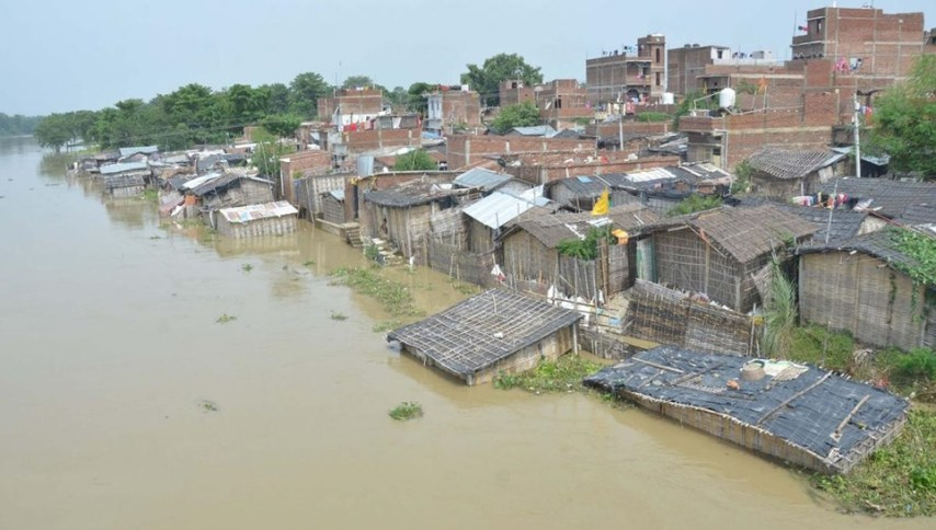 Flood of bihar, Aapna Bihar, Flood in north bihar,
