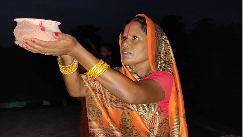 mithila culture, hindu culture, bihar culture, indian culture, environment worship