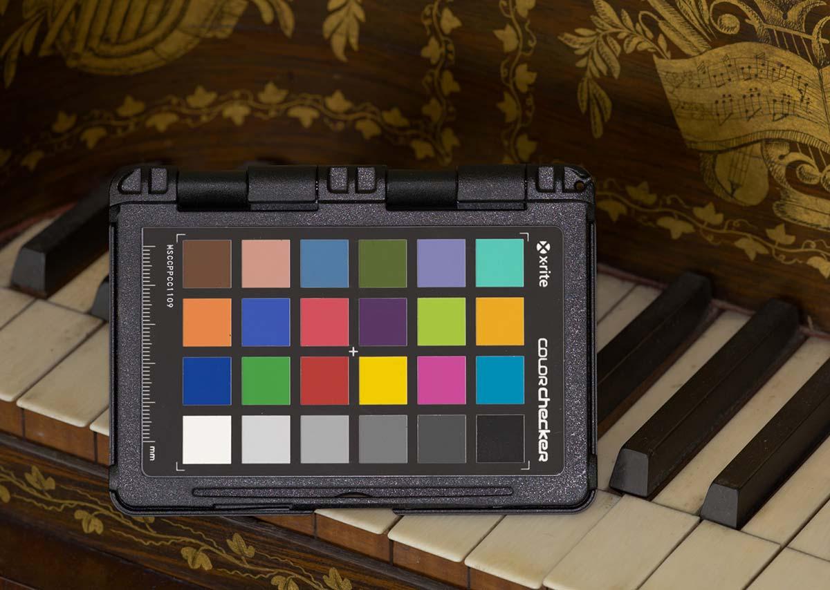 Macbeth Color Checker Chart