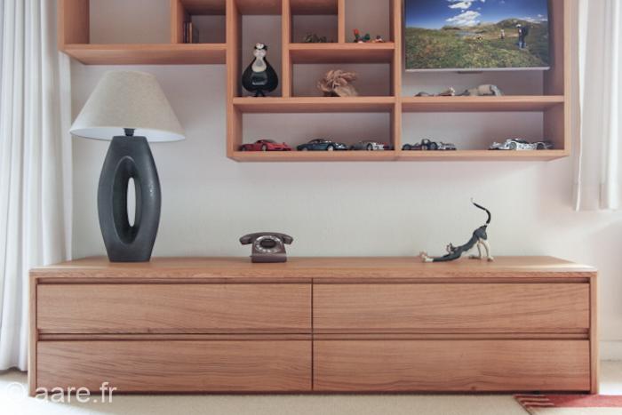meuble bas et etageres en chene massif meubles aare