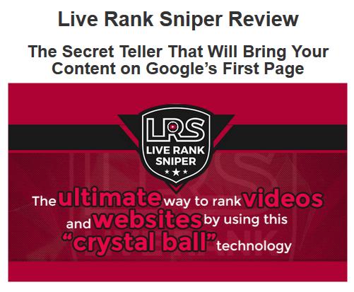 Live Rank Sniper Review & Bonus