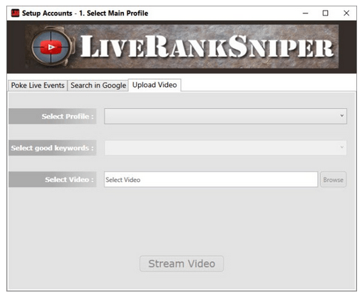 Step #3 - Live Rank Sniper Worked