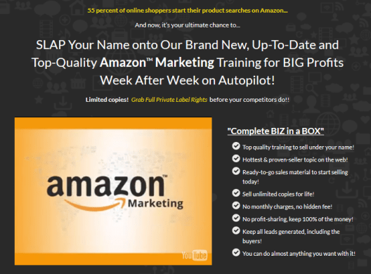 Top Quality Amazon Marketing Training For Big Profits Week After Week on Autopilot!