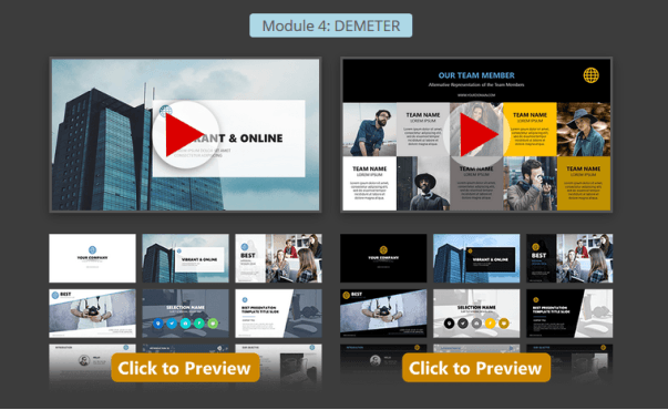 Presentation Warrior Professional Modul 4 Features