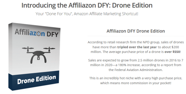 Affiliazon DFY Drone Edition By Kurt Chrisler Review