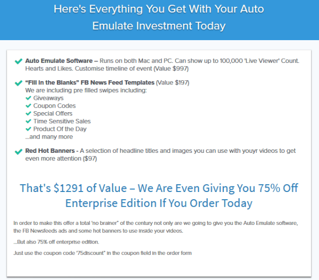 Auto Emulate Live Software By Paul Lynch Bonus