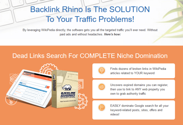 Backlink Rhino Builder Software By Matt Garrett Training