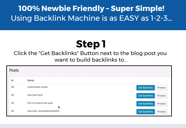 BacklinkMachine Software By Ankur Shukla Works