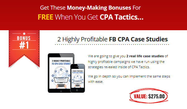CPA Tactics Training By Nextlevelpreneur Bonus
