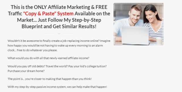 Affiliate Rebirth By Greg Kononenko Benefits