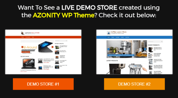 Azonity WP Theme By Bcbiz Demo