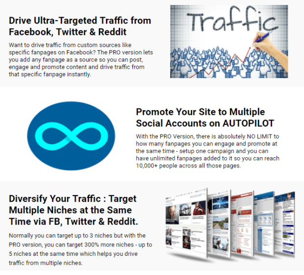 WP 1-Click Traffic Pro By Ankur Shukla More Features