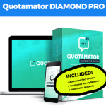 Quotamator Diamond Pro By Brett Ingram – Best Premium Upgrade Oto Of Quotamator Pro With 100 Million Posts With Their Secret Formula Instantly With Upgrade Features Automated 1 Click Quiz Creator, Auto Broadcast & Free Remarketing And Proven Big Publisher 15x Results Boost Your Traffic