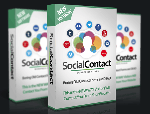 WP Social Contact Pro Plugin By Ankur Shukla Review
