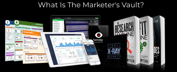 Marketers Vault By Mark Thompson Review