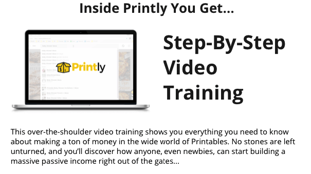 Printly 2.0 By Brendan Mace Training