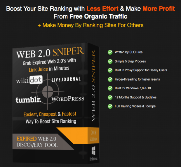 Web 2.0 Sniper V2 By Jane Williams Discount