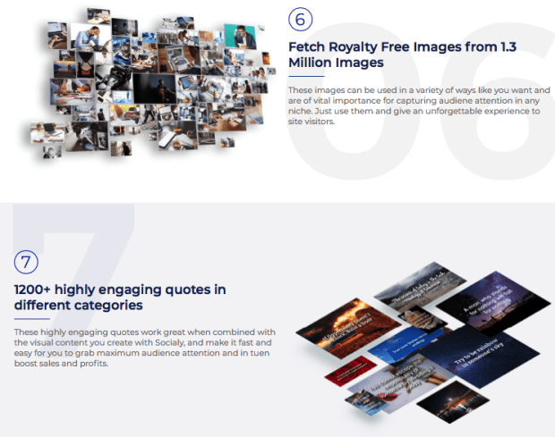 Socialy Visual Content Software By Misan Morrison Launch