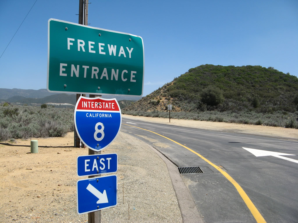 California  AARoads  Interstate 8