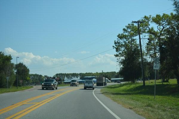 US 301 AARoads Florida