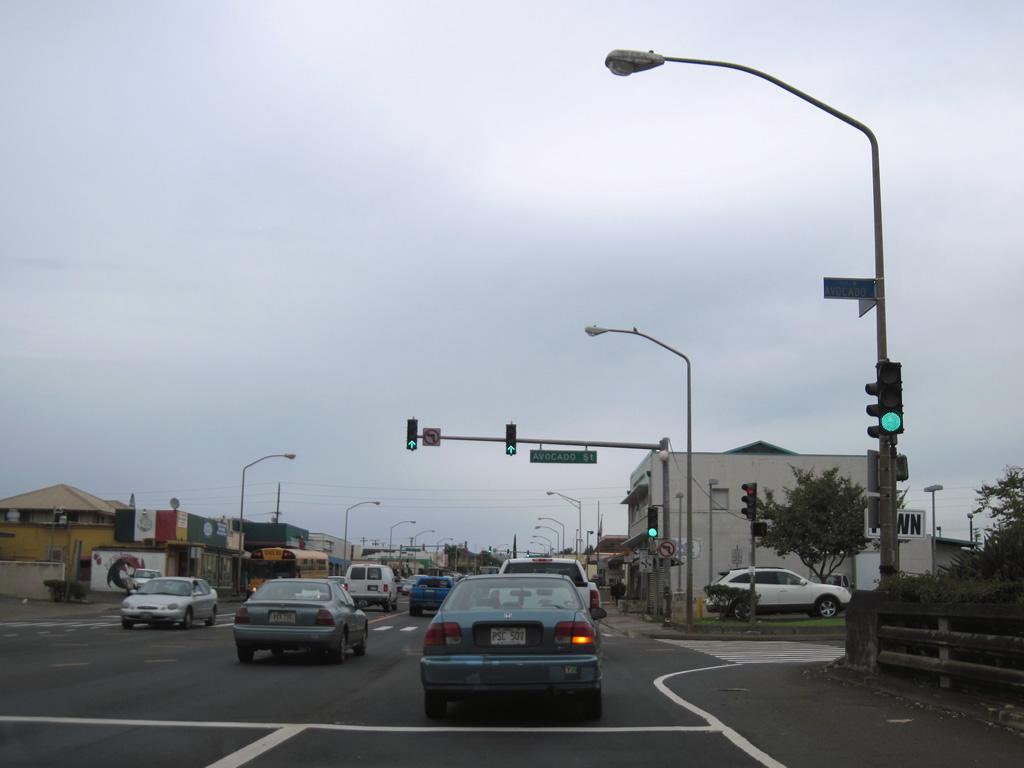 Route 80  Kamehameha Highway  AARoads  Hawaii