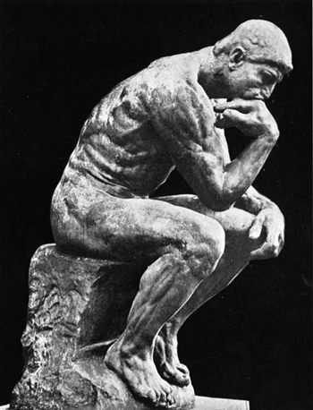 Image result for picture of the thinker