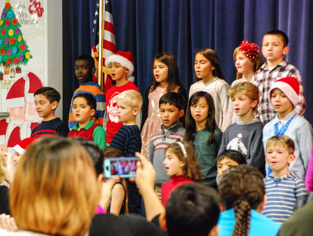 Dylan's 2nd Grade Christmas Concert