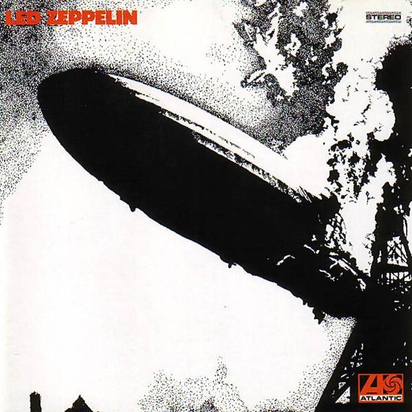 Led Zeppelin I album cover