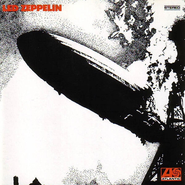Led Zeppelin I album cover
