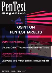 OSINT special PenTest Magazine