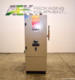 used fulton pulsepak hydronic boiler model phw 950sm input 950 190k [ 979 x 1000 Pixel ]