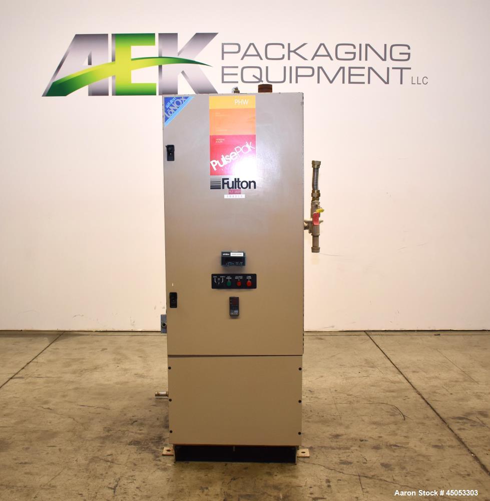 hight resolution of used fulton pulsepak hydronic boiler model phw 950sm input 950 190k