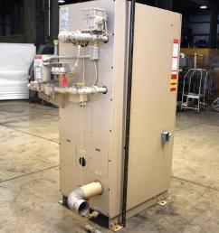 used fulton pulsepak hydronic boiler model phw 950sm input 950 190k [ 809 x 1000 Pixel ]
