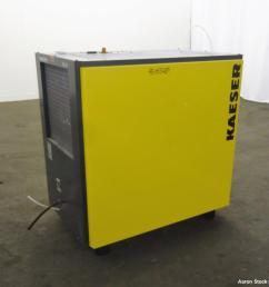 used kaeser refrigerated compressed air dryer model td61  [ 1000 x 858 Pixel ]