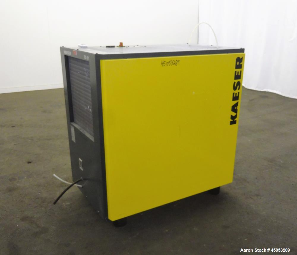 medium resolution of used kaeser refrigerated compressed air dryer model td61