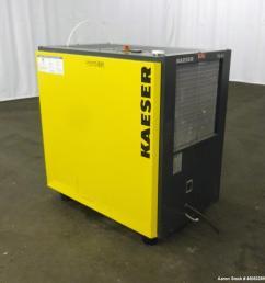 used kaeser refrigerated compressed air dryer model td61  [ 983 x 1000 Pixel ]