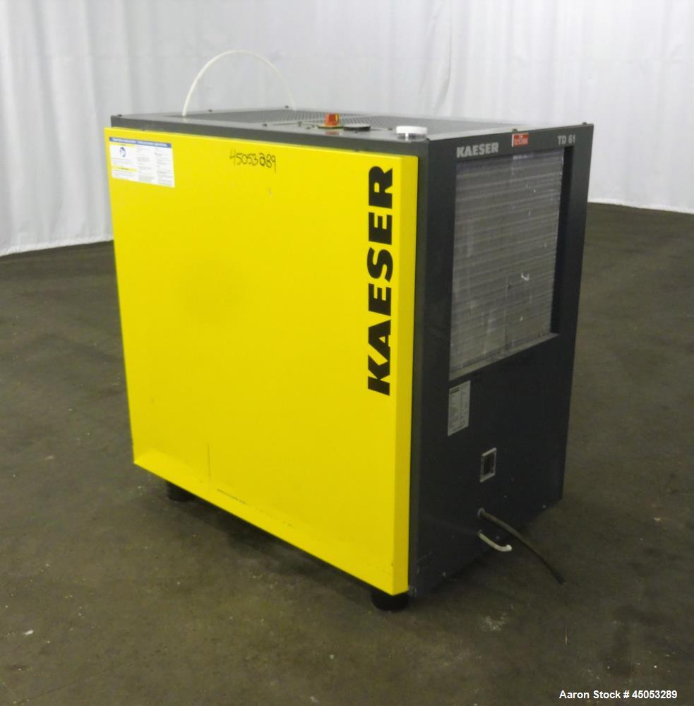 hight resolution of used kaeser refrigerated compressed air dryer model td61
