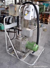 Used- Leybold-Heraeus Rotary Piston, Oil Seal Vac