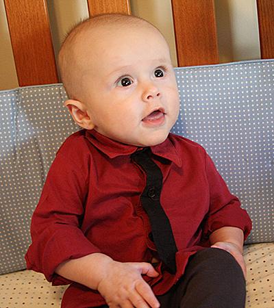 Sebastian 20 weeks