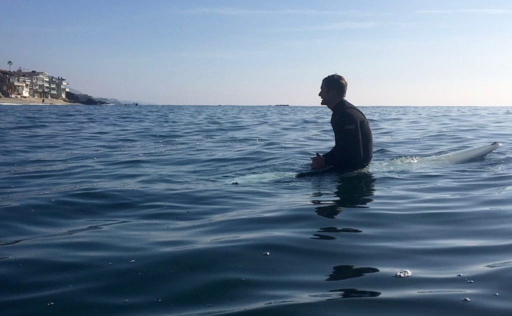 Surfing with Rob Bell in Laguna Beach