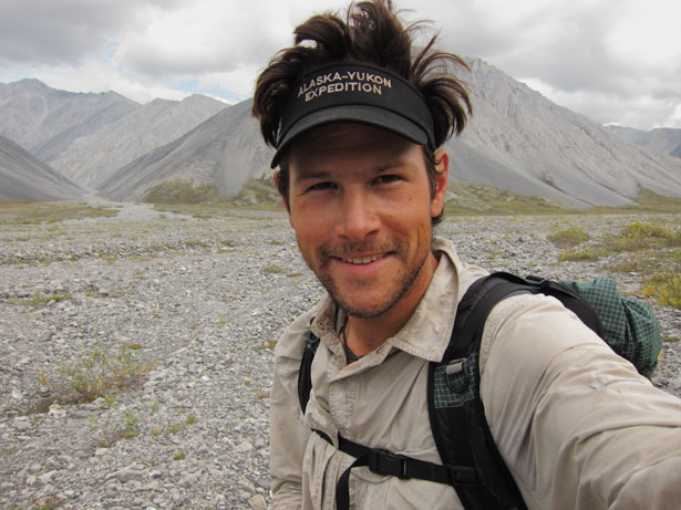 Andrew in the Brooks Range Alaska