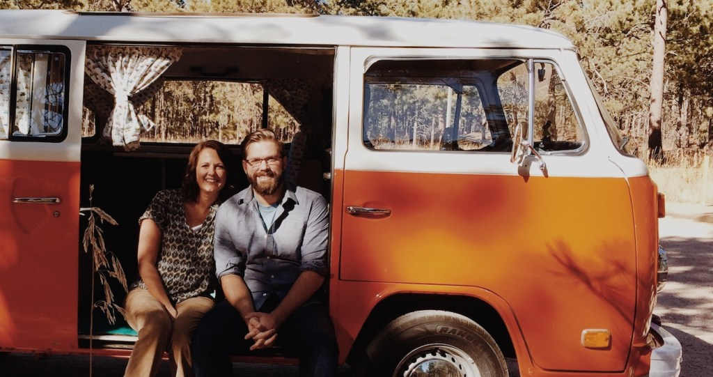 Matt & Laura in the Joybus Podcast