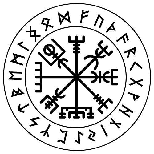 Custom Norse Magical Bind Rune Charm