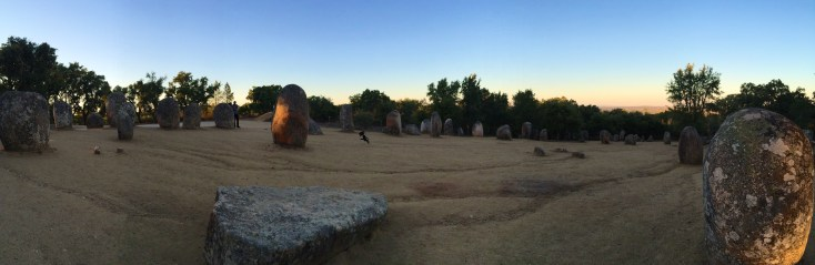 Megalithic site nearby evora