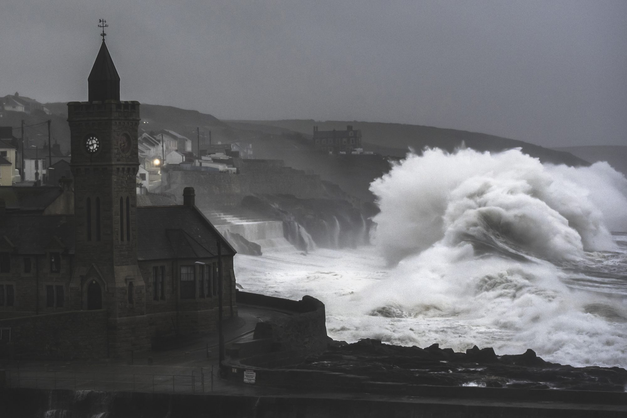 storms in cornwall photography