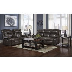 Decorating Ideas For Living Room With Brown Couch Wall Shelving Rent To Own Furniture Aaron S 2 Piece Watson Reclining Collection