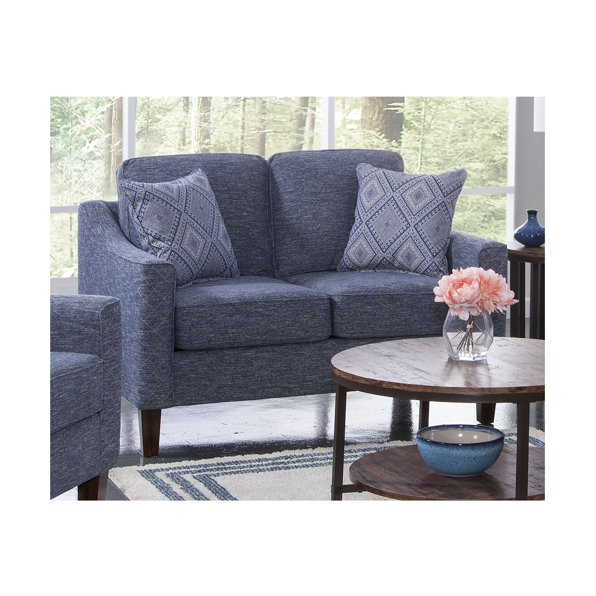 Woodhaven Industries Sectionals 3 Piece Sonja Living Room - Year of ...