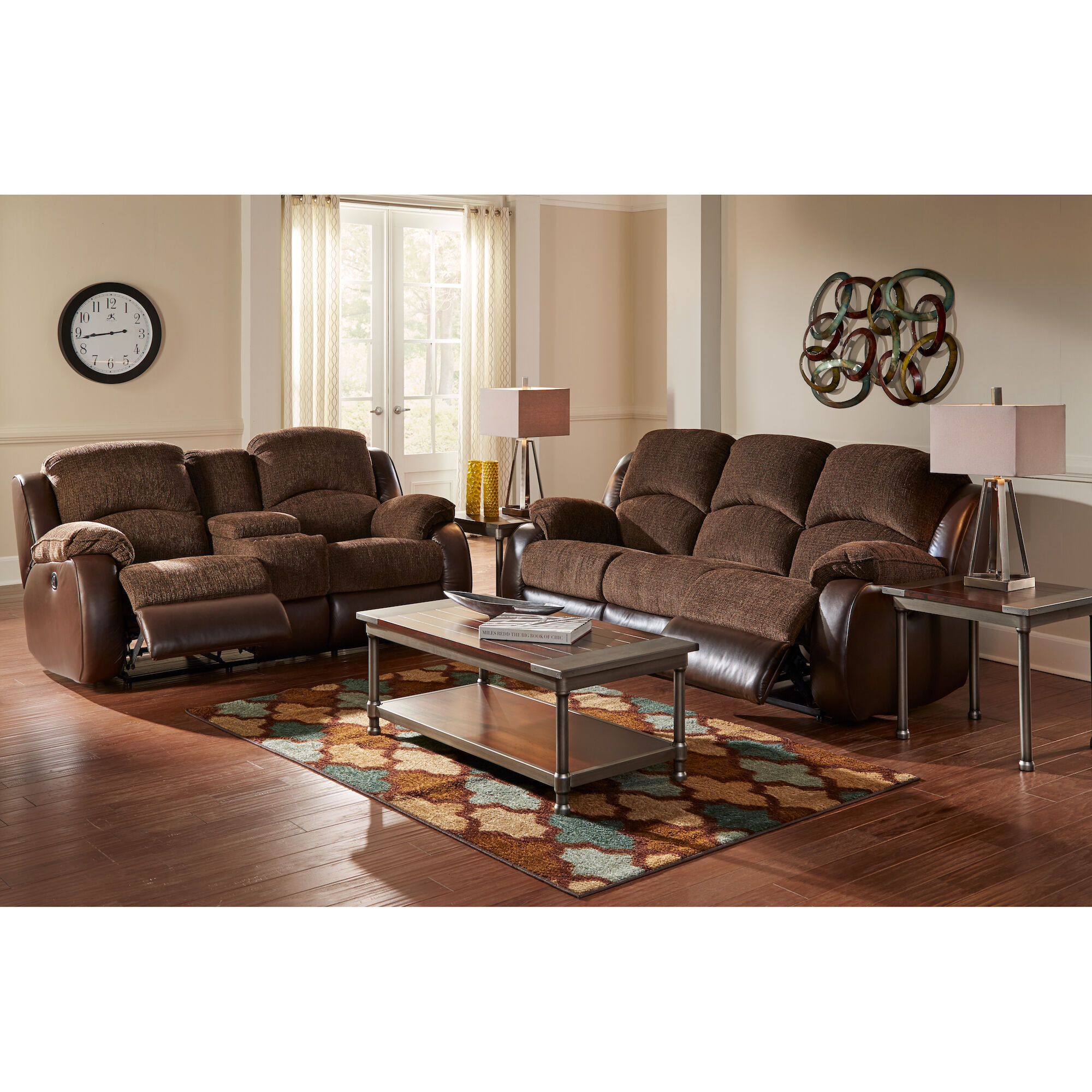 cheap 2 piece living room sets gypsum ceiling designs for india woodhaven industries sofa loveseat memphis reclining collection